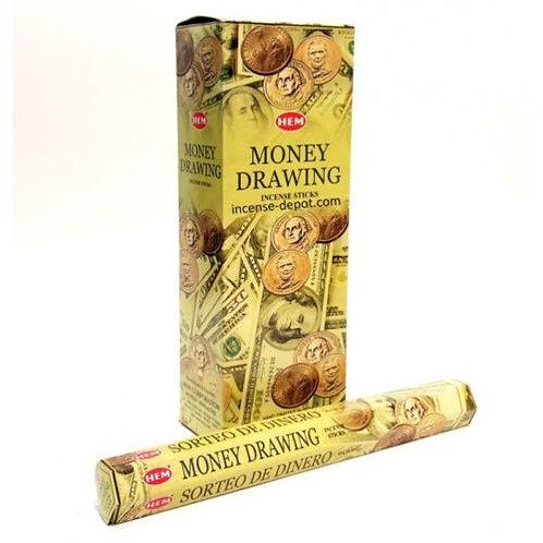 1 Box Money Drawing Incense