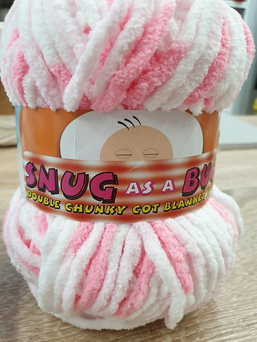 Snug AS A Bug Double Chunky Blanket Yarn ( 2 Colours)