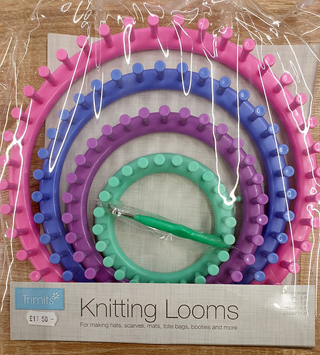 Trimits circular knitting loom shipley haberdashery & crafts online west yorkshire uk front of pack
