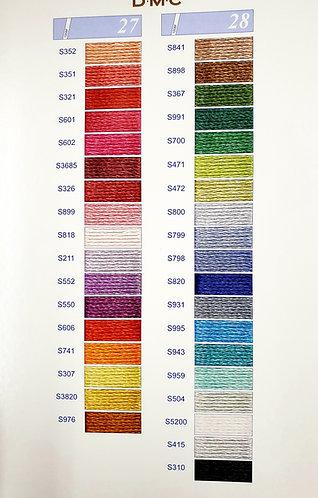 DMC colour variation floss colour chart shipley haberdashery & crafts ltd online shipley west yorkshire uk