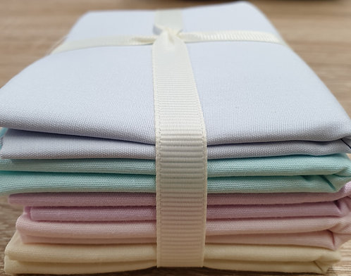 Cotton fat quarters pastels shipley haberdashery & crafts ltd online west yorkshire uk