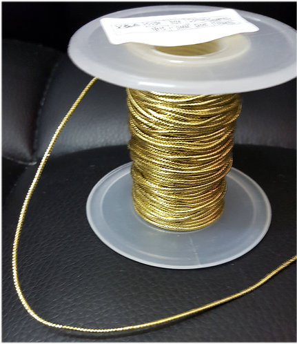 Cord gold silver