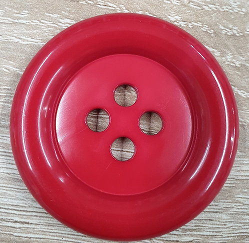 clown buttons 50mm red shipleyhaberdashery and crafts online west yorkshire uk