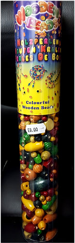 wood beads tube shipley haberdashery