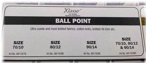 Klasse ball point sewing machine needles shipley haberdashery & crafts west yorkshire online