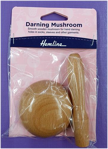 Darning Mushroom wood shipley haberdashery online yorkshire uk