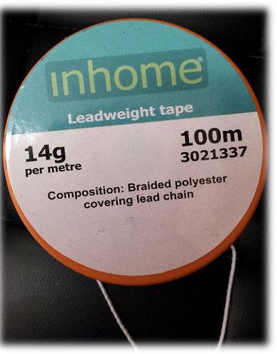 Lead Weight Tape 14 g per Metre