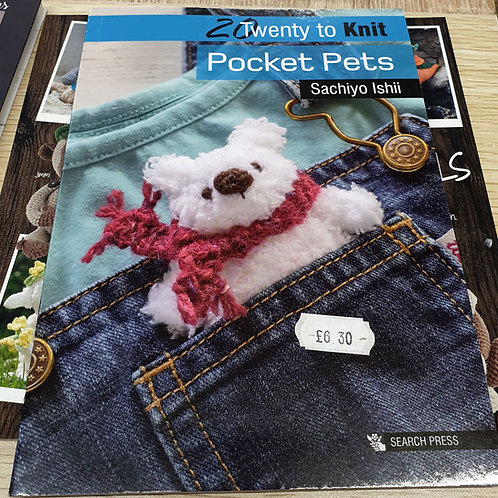Kniiting book pocket pets Shipley Haberdashery & Crafts online shipley west yorkshire uk