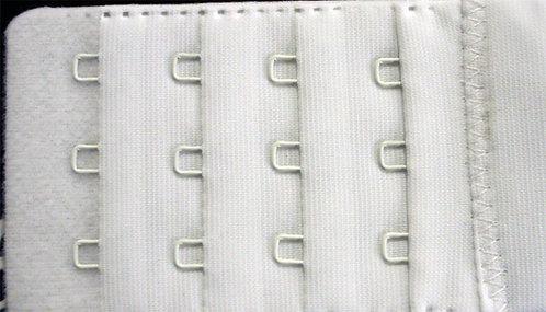 Bra- Extenders '3 hook' White  Width 50 mm shipley haberdashery & crafts west yorkshire online
