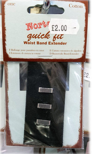 Trouser Waist Band Extender Hook & Bar shipley haberdashery & crafts west yorkshire online