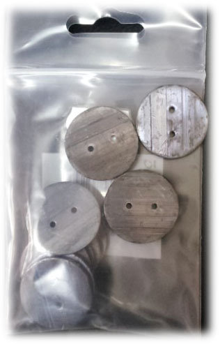Lead Penny Weights shipley haberdashery & crafts west yorkshire online