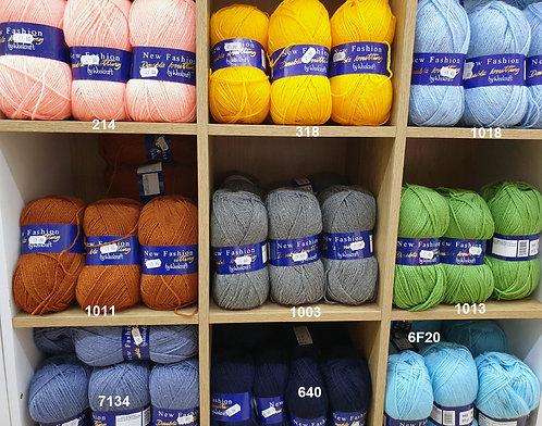 Woolcraft Fashion DK Shipley Haberdashery & Crafts Ltd online UK yarn colours