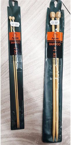 Bamboo knitting needles shipley haberdashery