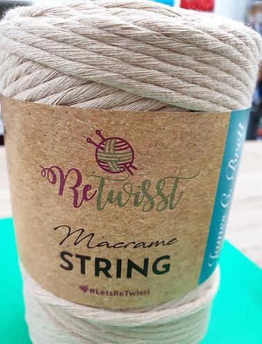 macrame string 3mm beige shipley haberdashery and crafts online shipley west yorkshire uk
