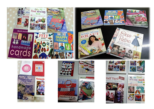 Sewing and Craft Books