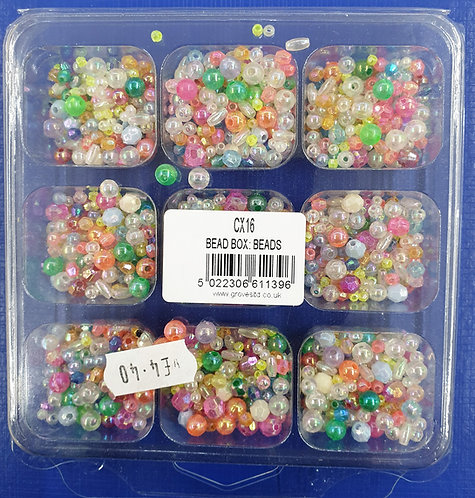 small multi coloured sparkly beads shipley haberdashery & crafts ltd online uk front