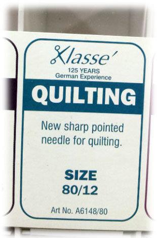 Klasse quilting sewing machine needles shipley haberdashery & crafts west yorkshire online