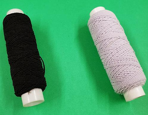 shiring elastic black or white shipley haberdashery and crafts online west yorkshire uk