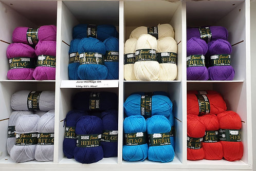 Jarol Heritage wool rich shipley haberdashery online shipley west yorkshire uk all colours