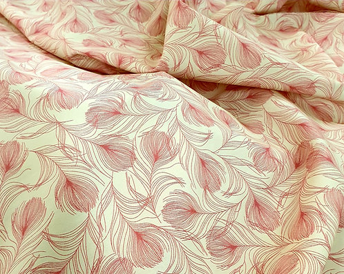 Rose and hubble 100% cotton floral design pink shipley haberdashery and crafts online west yorkshire uk