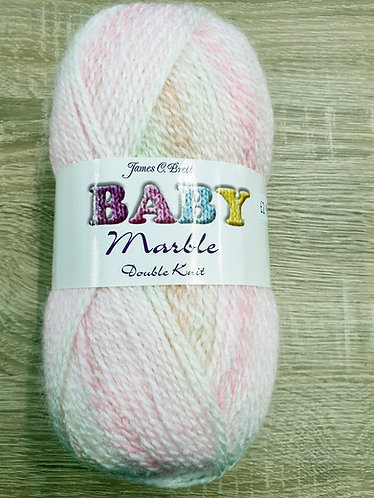 James C Brett baby marble dk shipley haberdashery & crafts online uk pinks cream peach