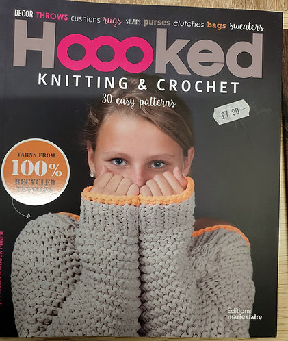 Hooked Knitting & Crochet Book shipley haberdashery online.