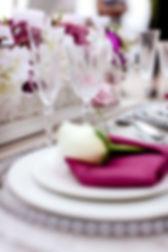 Decoration de table, inspiration