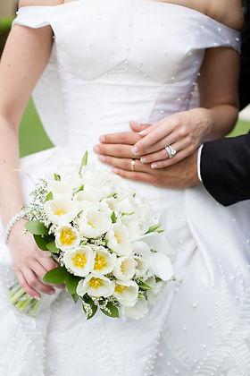 Details of bride and groom - wedding