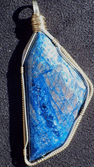 Shattuckite Pendant