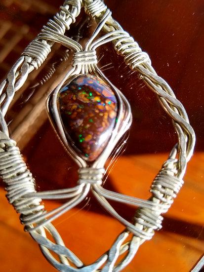 Yowah Boulder Opal Pendant