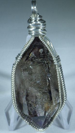 Smoky Amethsyt Crystal Pendant (Brandberg)