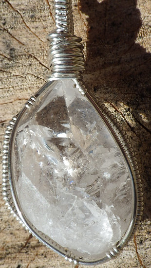 Quartz Crystal Pendant