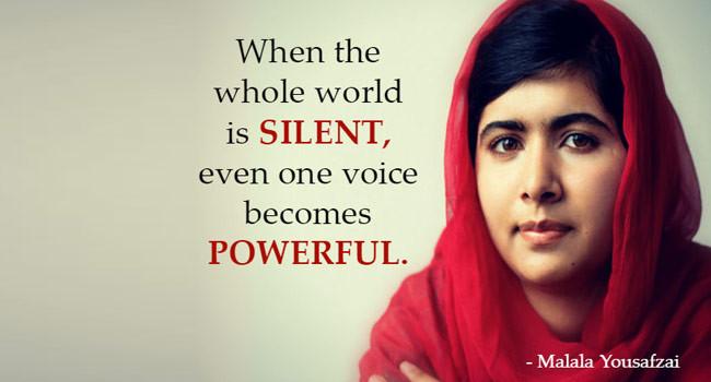 """""""Le nostre parole cambieranno il mondo"""""""