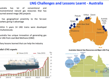 LNG: Challenges and lessons Learnt - Australia