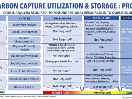 CO2 Storage Project: Best Practices for Site Screening