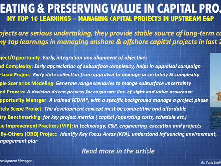 How to Create Value in Capital Projects: Top 10 Learnings
