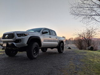 2019 Tacoma 3 and 1 Suspension Lift with