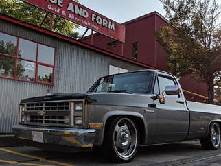1986 Chevrolet C10  Lowered 5-7 with 20