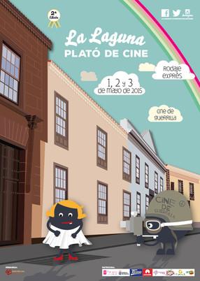 """¡La II edición de """"La Laguna. Plató de Cine"""" ya tiene cartel!"""