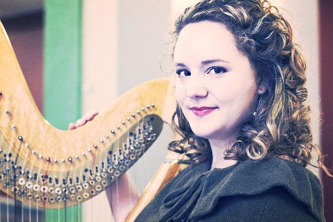 Zoe Coppola harpist and harp teacher Baltimore, Maryland