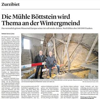 2021-09-14 Die Mühle Böttstein, Thema an der Wintergmeind