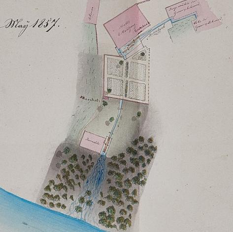 Böttsteiner Mühlen im 18. Jahrhundert