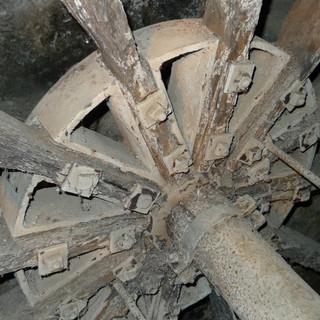 Mittelachse Detail