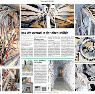 2021-03-13 Das Wasserrad der alten Mühle