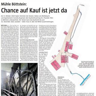 2021-01-11 Parzelle 709 / Mühle Böttstein Chance auf Kauf