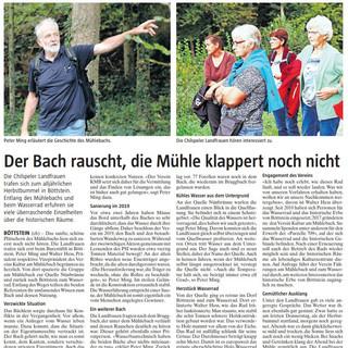 2021-09-18 Der Bach rauscht, die Mühle klappert noch nicht