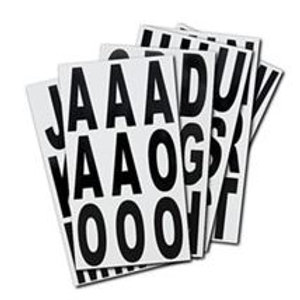 3 Inch Vinyl Letter Sign Stickers