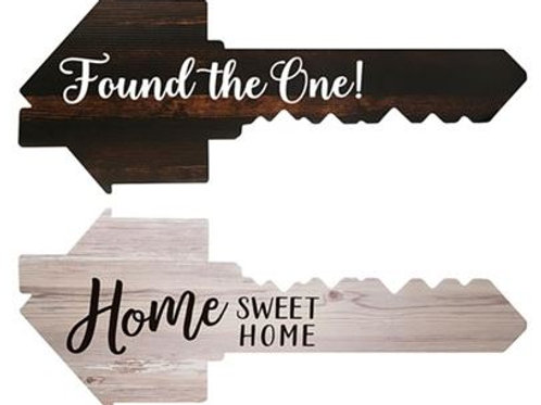 Photo Prop Key- Found the One! & Home Sweet Home