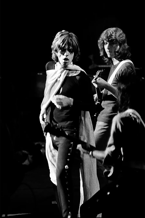 351 Mick Jagger & Mick Taylor Madison Square Garden 1969