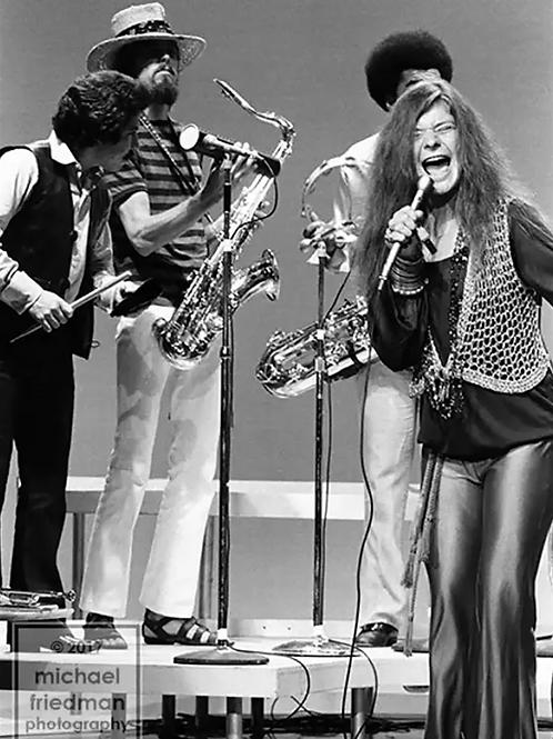 119 Janis Joplin Kozmic Blues Band Dick Cavett Show 1969